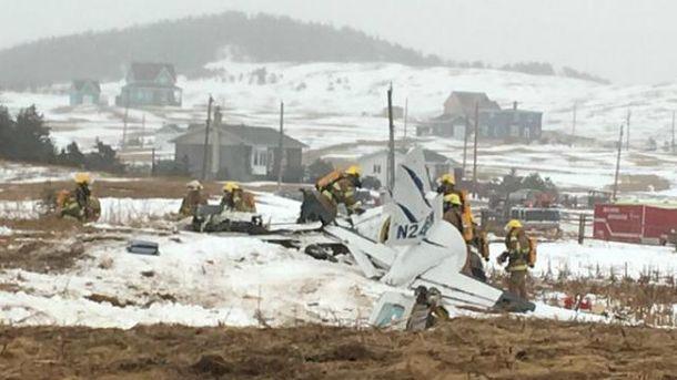 Авіакатастрофа в Канаді