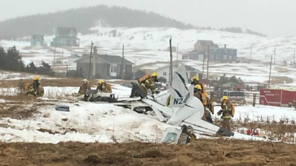ВКанаде при падении самолета погибли шесть человек