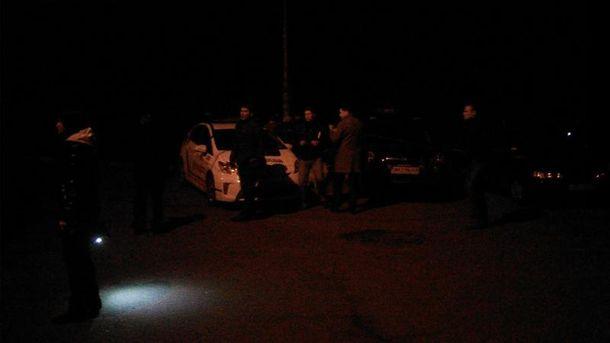 Взрыв у машины Парасюка