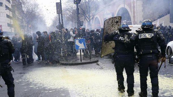 Заворушення у Парижі