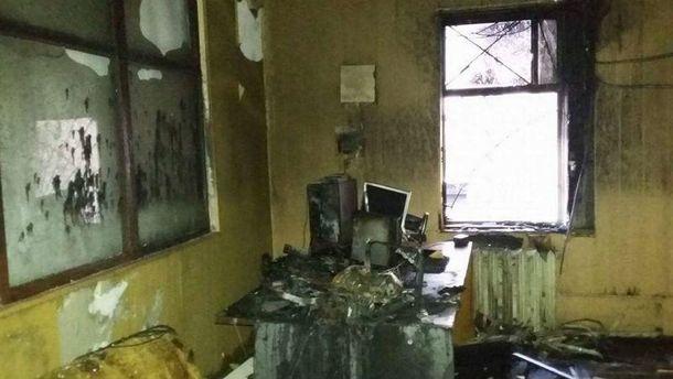 НаСумщині спалили місцевий телеканал