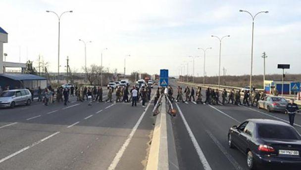 Бунтующие перекрыли дорогу Одесса— Киев из-за назначения нового обвинителя