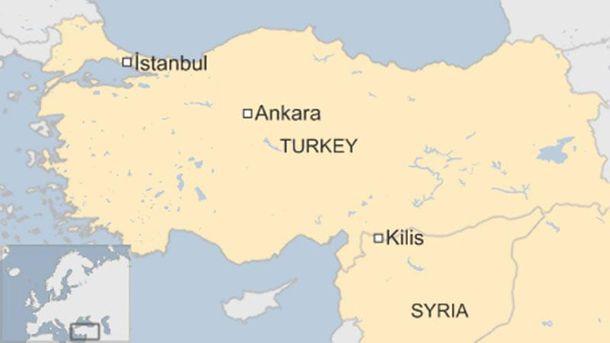 На территорию Турции упала ракета из Сирии, есть раненые