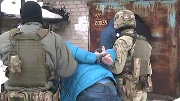 Задержание боевиков