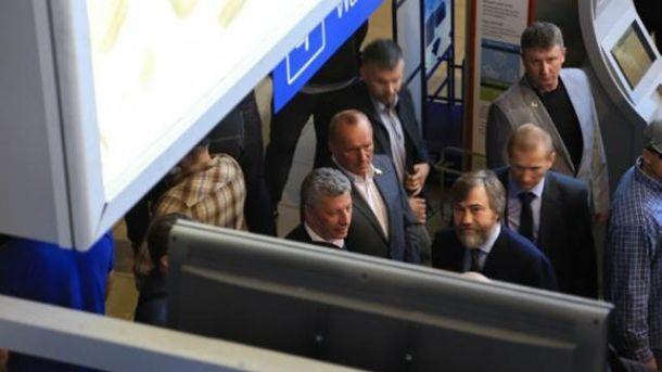 Бойко і Новинський в аеропорту Одеси