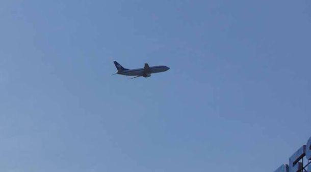 Самолет над Одессой