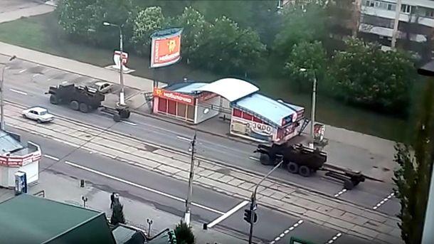 Техника в Луганске