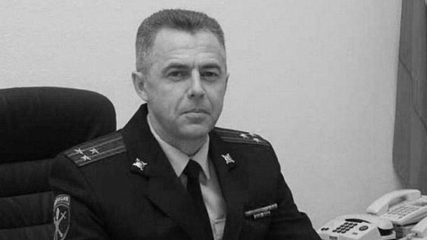 Вбитий поліцейський Андрій Гошт