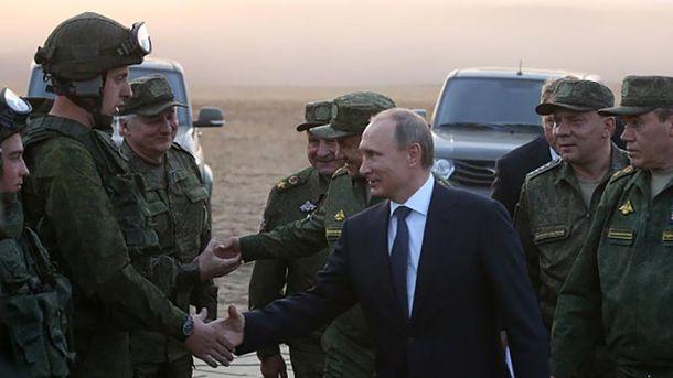 Володимир Путін відзначив заслуги російської армії в Сирії