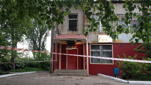 Здание миграционной службы в Константиновке