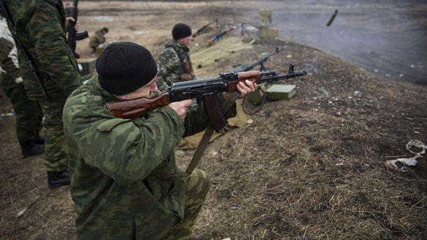 Терористи продовжують обстрілювати українську армію