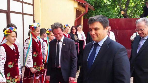 Павло Клімкін під час візиту