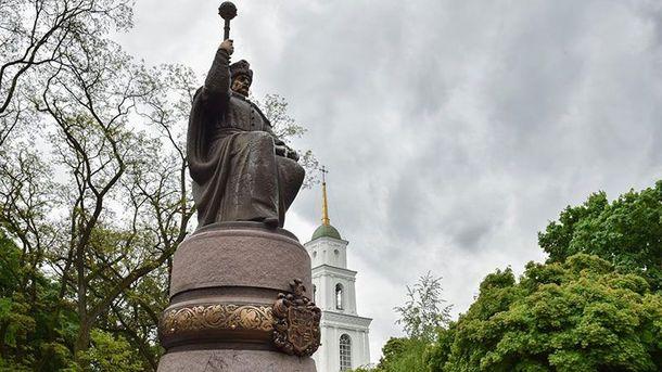 Пам'ятник Мазепі у Полтаві
