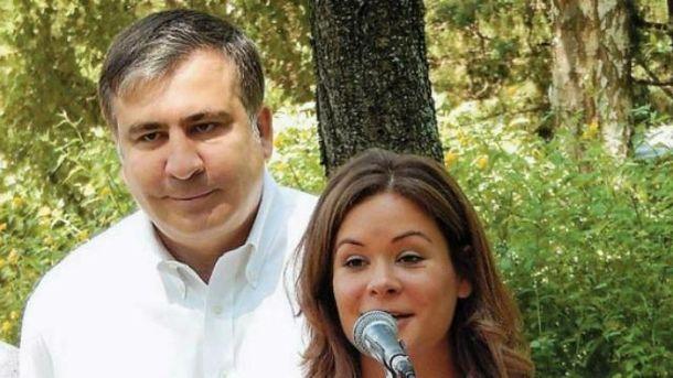 Мария Гайдар, Михаил Саакашвили