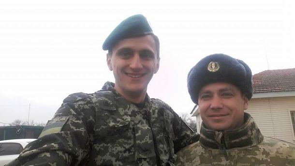Володимир Рунець (ліворуч)
