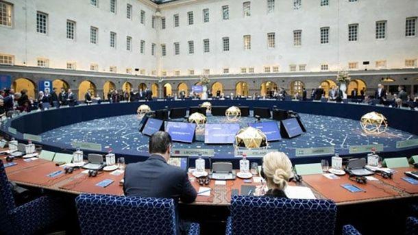 Заседание министров внутренних дел стран ЕС