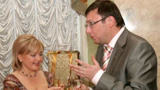 Юрий Луценко, Оксана Билозир