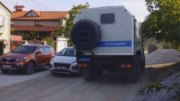 Обыски в Бахчисарае