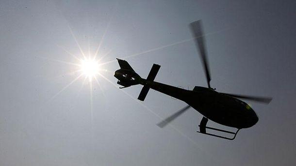 Вертоліт розбився в Росії