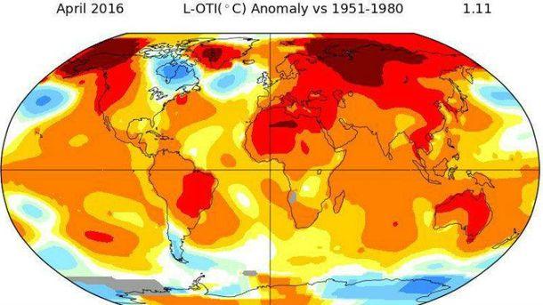 Аномальне потепління