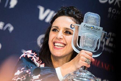 Джамала з нагородою Євробачення-2016