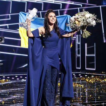 Джамала на сцені Євробачення