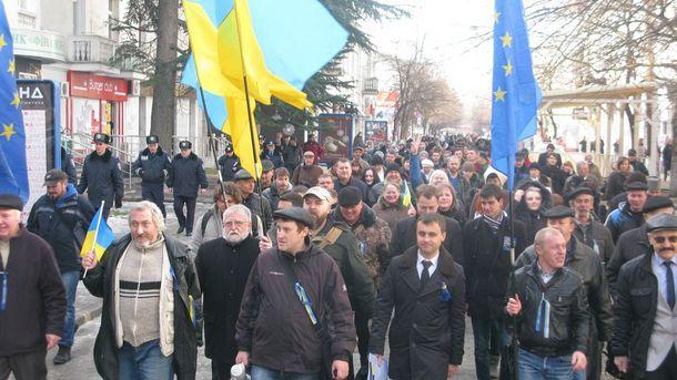 Євромайдан в Криму