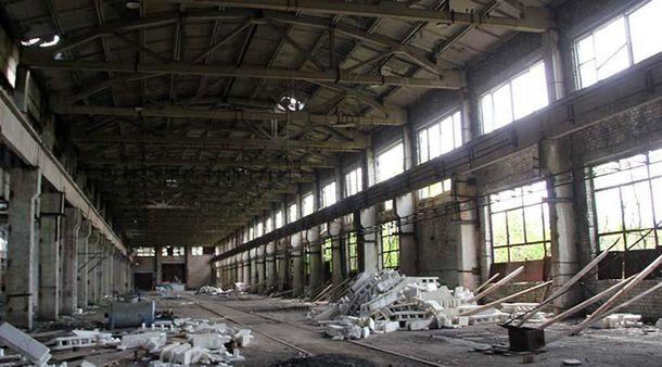 Промислова зона біля Авдіївки
