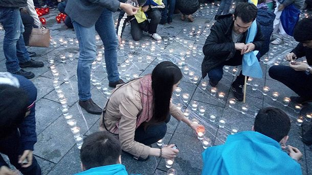 Чествования памяти жертв депортации крымских татар