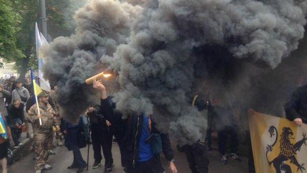 Марш азовців у Києві