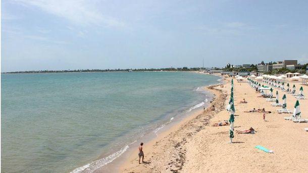 Пляж Крима