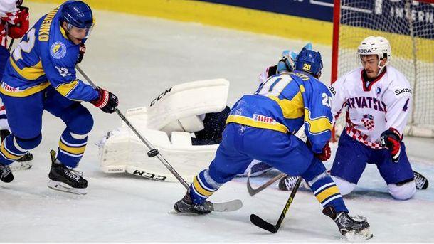 Момент хоккейной игры