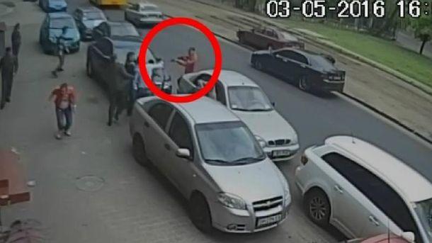 Затримано чоловіка, який обстріляв одеських журналістів