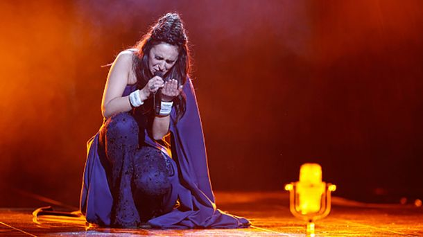 Джамала на сцене Евровидения