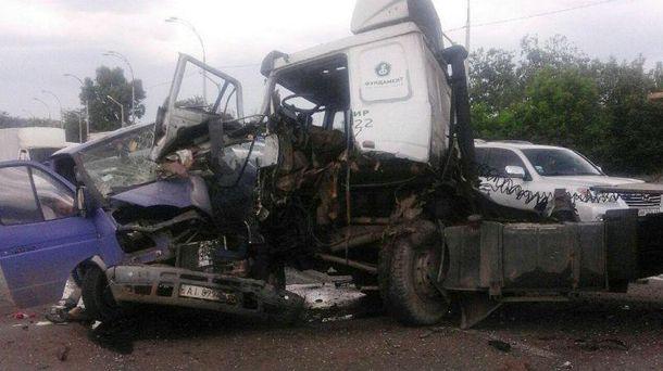 Серйозна аварія у Києві