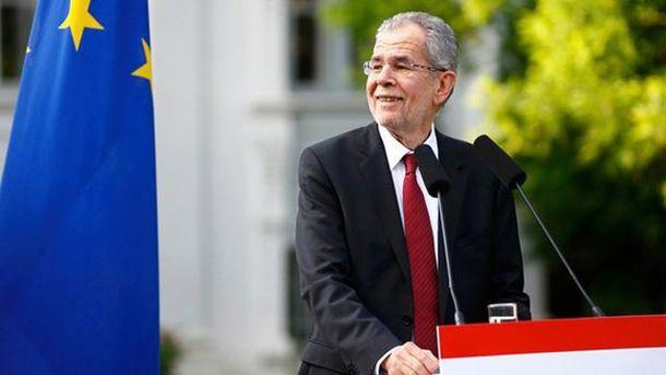 Президент Австрії Александер Ван дер Беллен