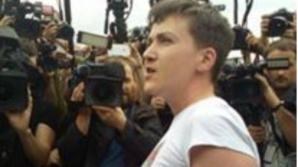Надежда Савченко уже в Украине