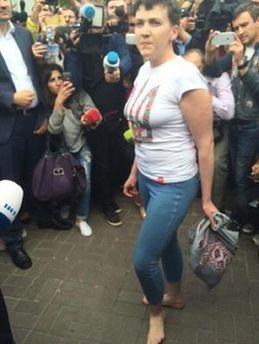 Надежда Савченко в Украине