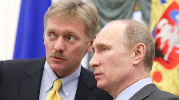 Путін устами Пєскова не відкидає можливість повернення Донбасу