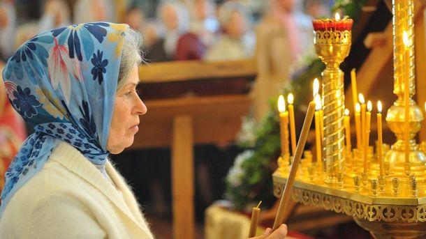 70,4% украинцев считают себя верующими