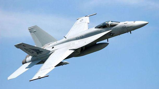 Винищувач F/A-18 Super Hornet