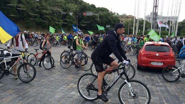 Велогонка у Києві