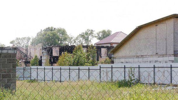 Остатки нелегального дома для престарелых