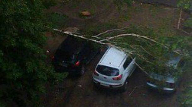 Потужна злива накрила Харків