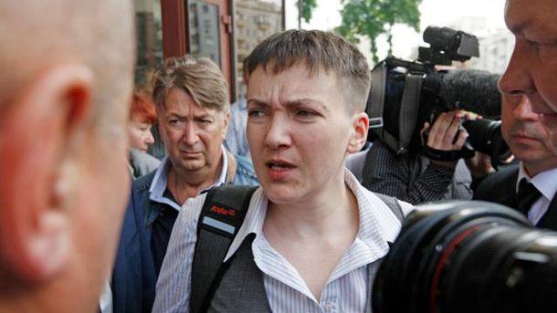 Глупых вопросов журналистам Савченко лучше не ставить