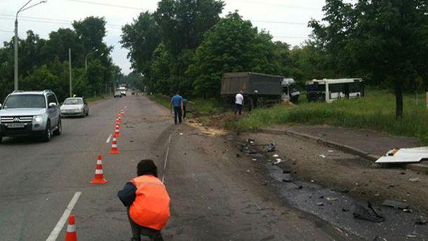 В аварии пострадали 9 человек