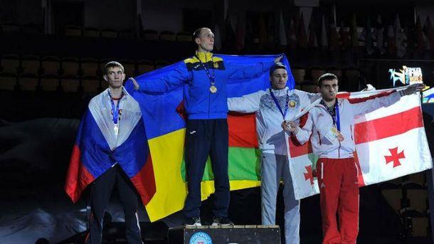Український силач переміг у фіналі росіянина