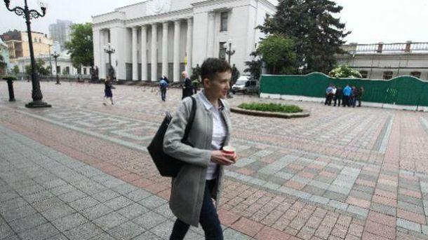У свій перший робочий день Савченко прийшла на роботу завчасно