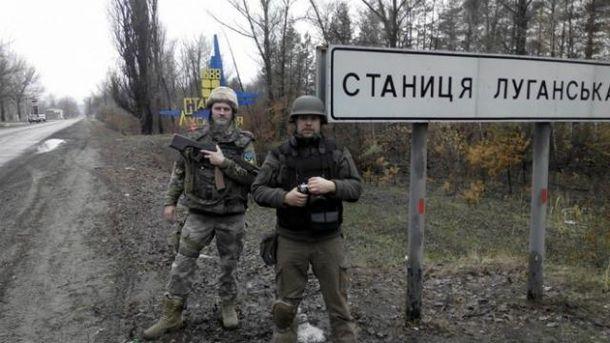 Гатили терористи і по позиціях українських захисників