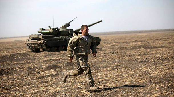 Под Донецком погиб боец АТО
